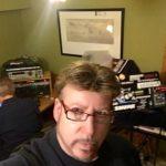 In studio Randall Erkelens, Steven Cochran